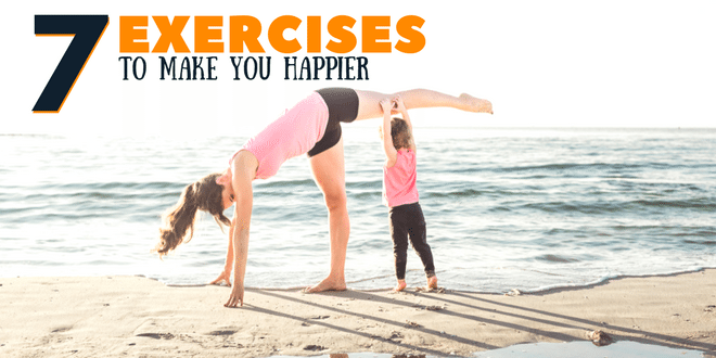 7 exercises to make you happier