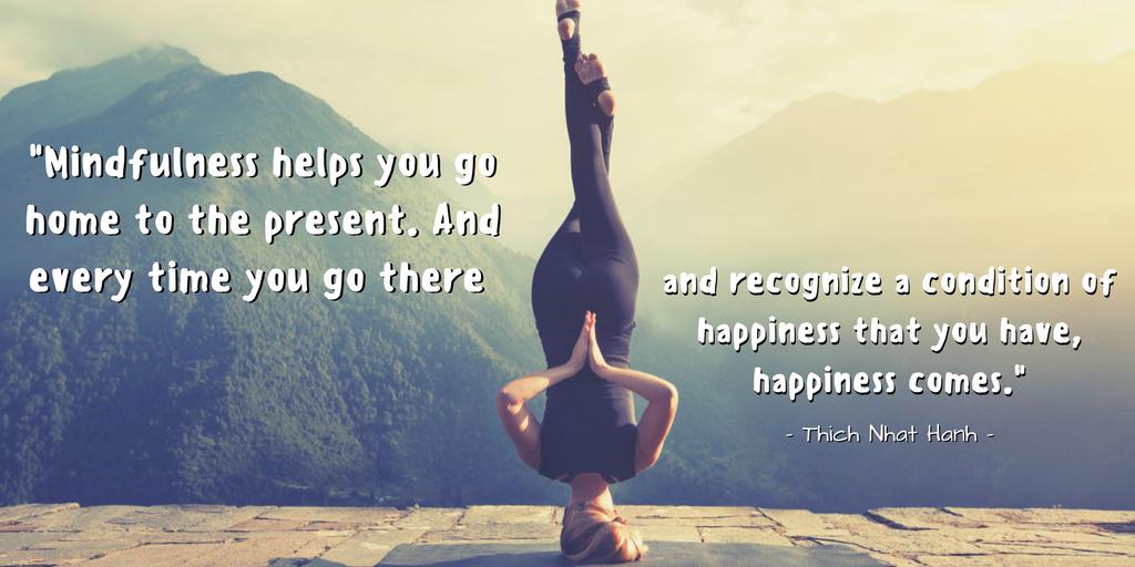 Mindfulness Yoga Quote