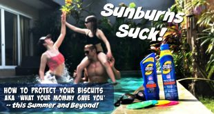Protect yourself against sunburn with coppertone sunscreen