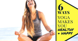 6 Ways Yoga Relieves Stress and Makes You Happy