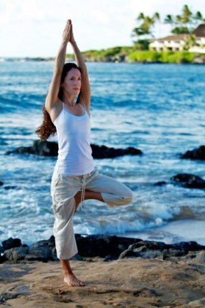 yoga to relieve stress and make you happy 3