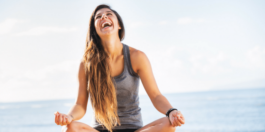 yoga makes me smile