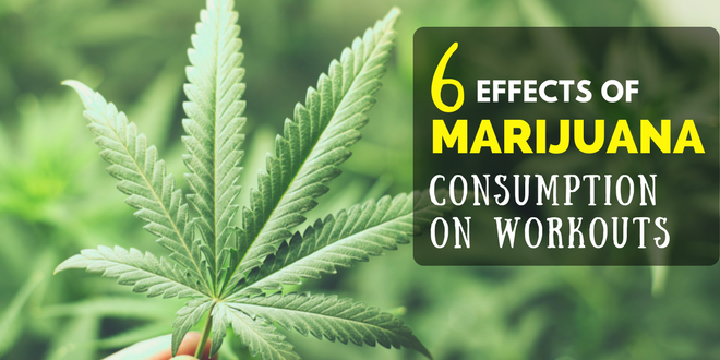 6 Effects of Marijuana Consumption on Workouts