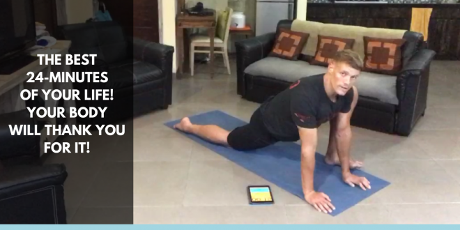 guided mobility workout 24 minutes total body