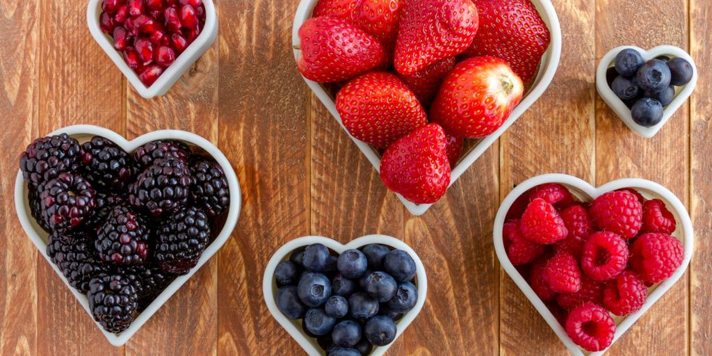 i love antioxidants in fruit