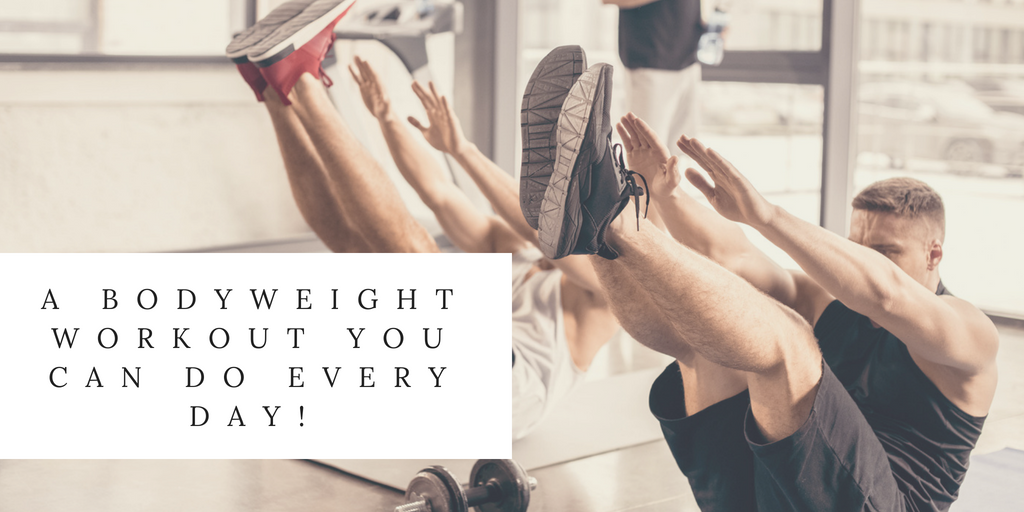 A Body Weight Workout You Can Do Every Day