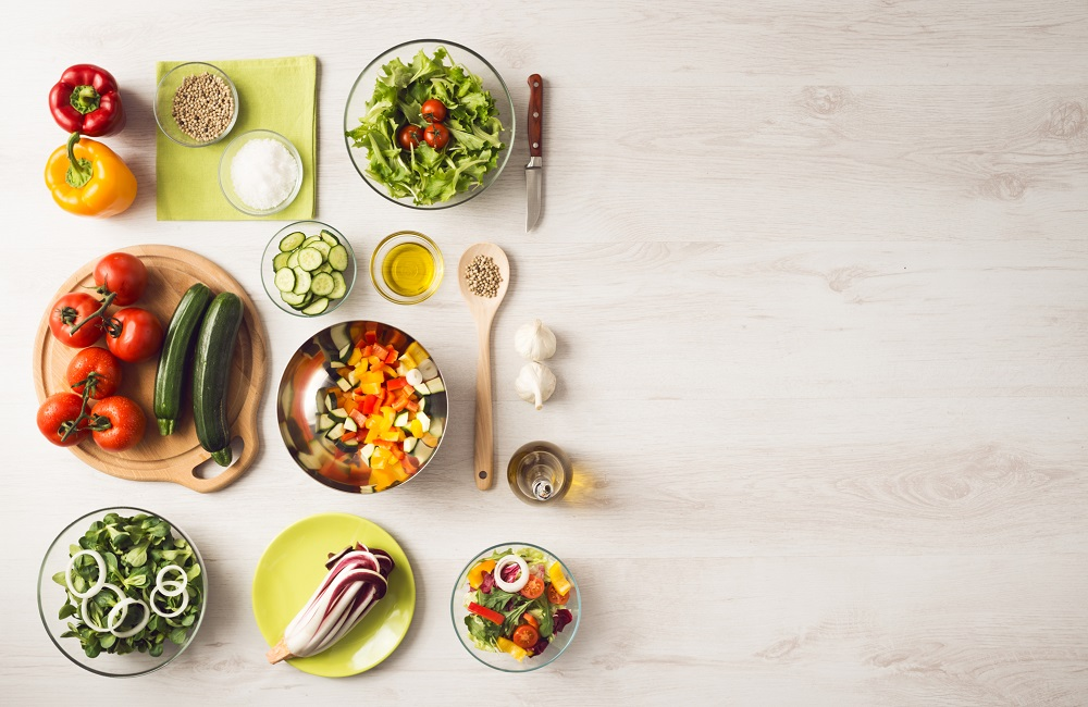 Healthy eating and food preparation