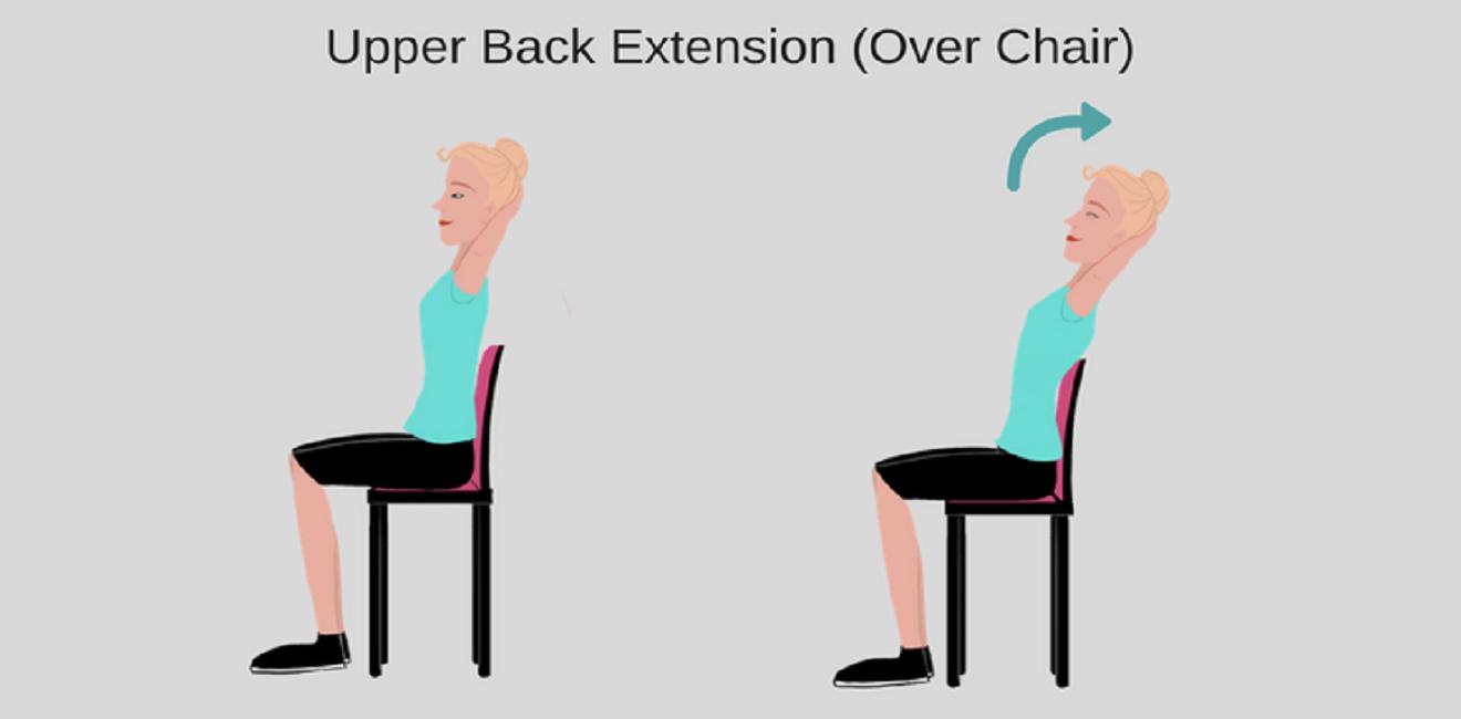 Stretch #3 – Upper Back Extension
