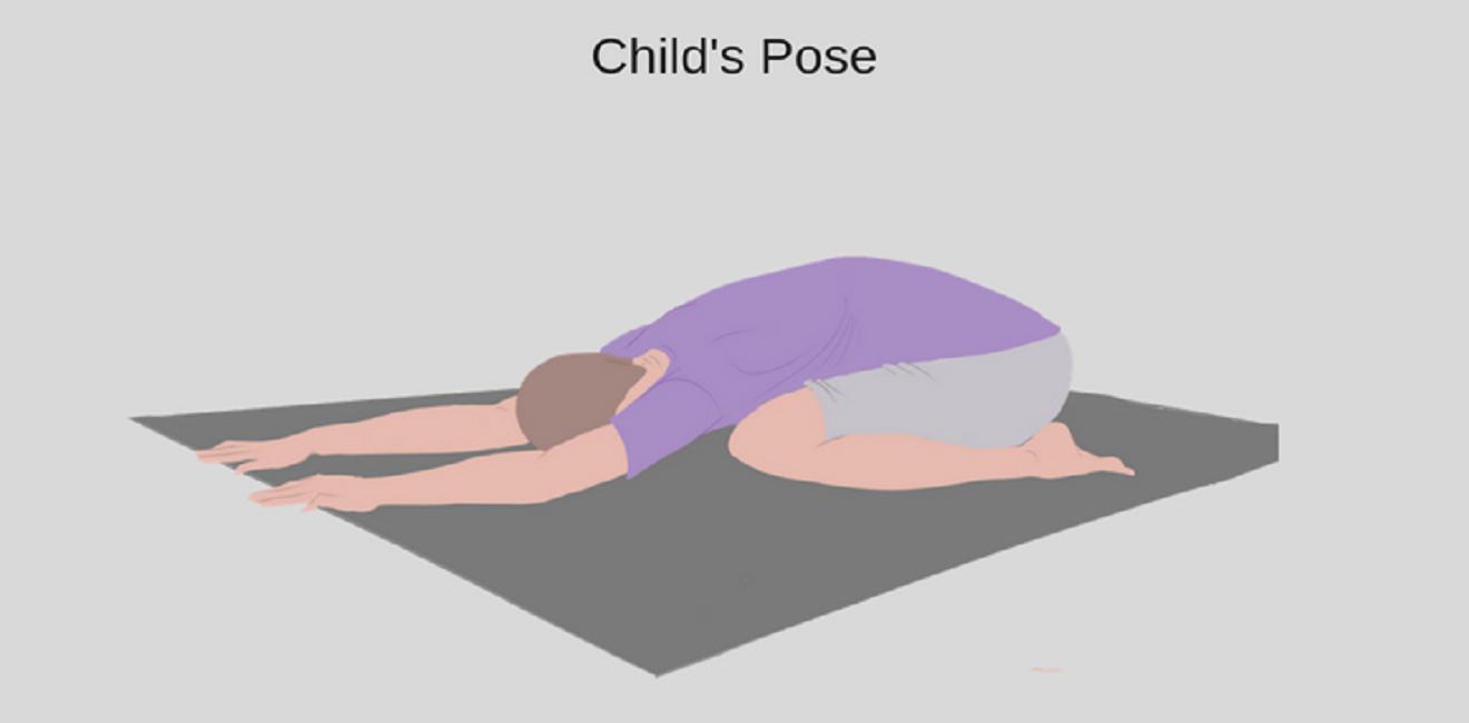 Stretch #2 – Child's Pose