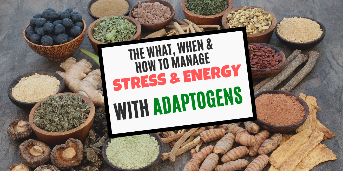 How Adaptogens Supercharge Your Energy and Kill Your Stress