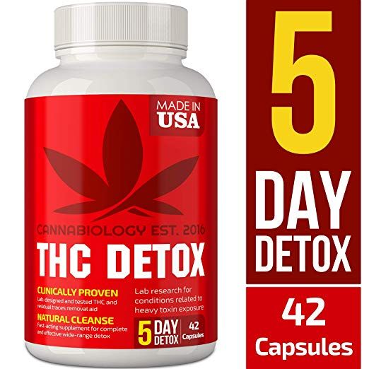 THC Detox Made in USA - BIO-Cleanse - Liver Detox, Urinary Tract & Kidney Cleanse - 5 Day Detox