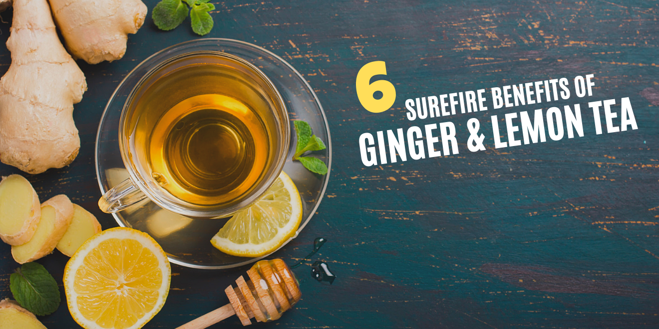 Health Benefits of Ginger and Lemon Tea and Why You Should Drink It Daily