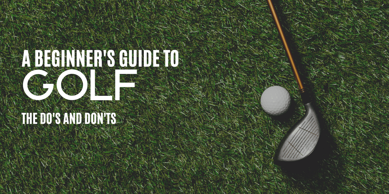 Golf for Beginners: Don't Forget to Do This