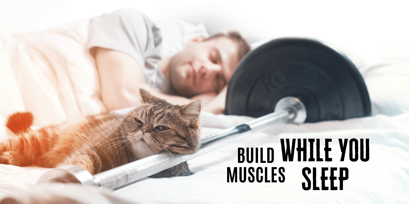 dadbodyproject build muscles while you sleep