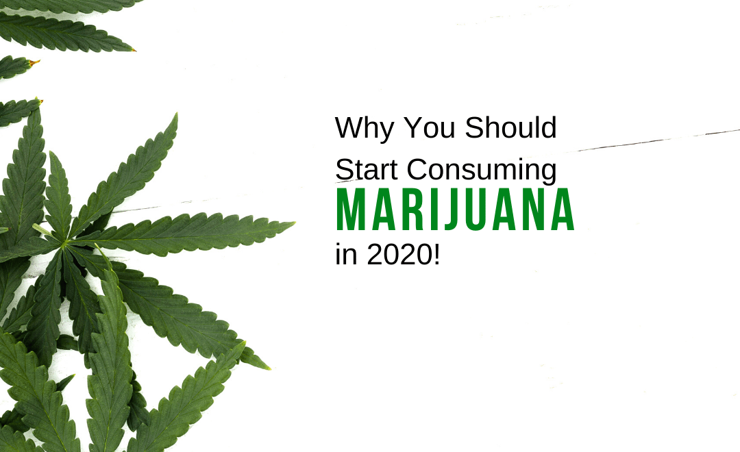 Why You Should Start Consuming Marijuana In 2020