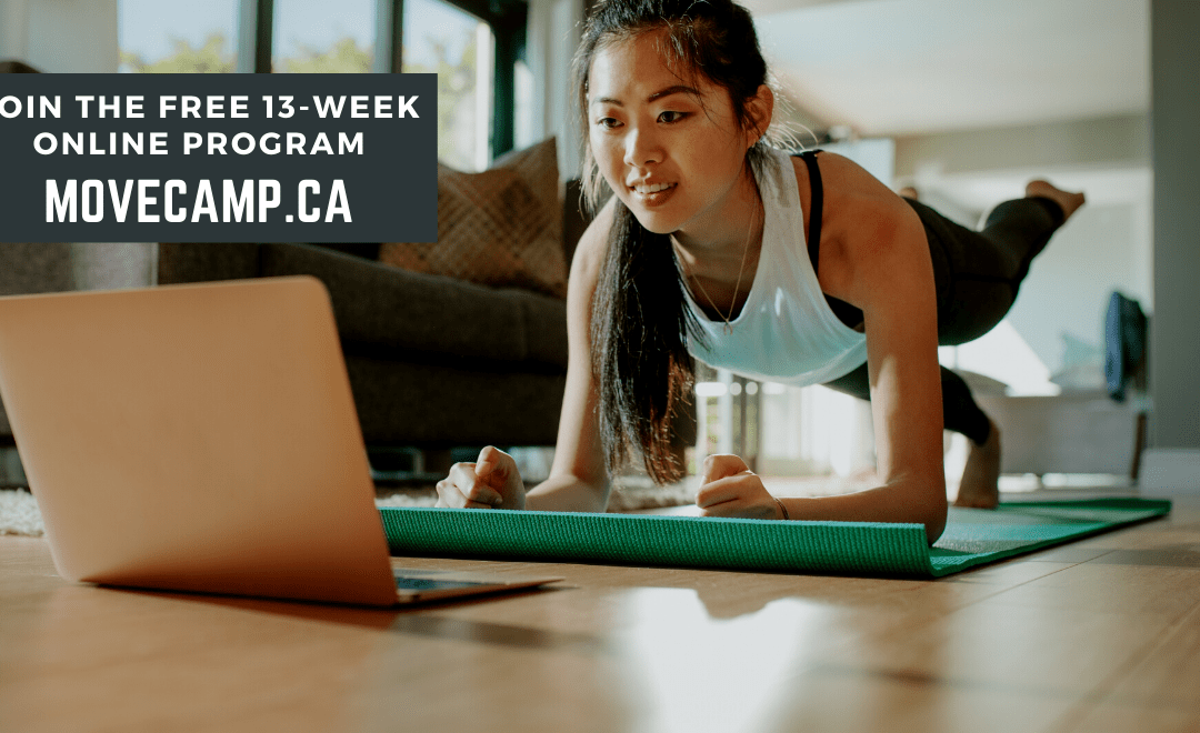MoveCamp keeps Canadians moving with 13-week live online summer fitness program