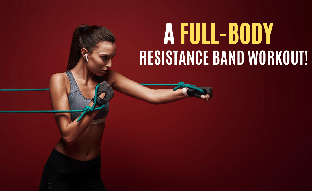 A Spicy Full-Body Workout with Resistance Bands