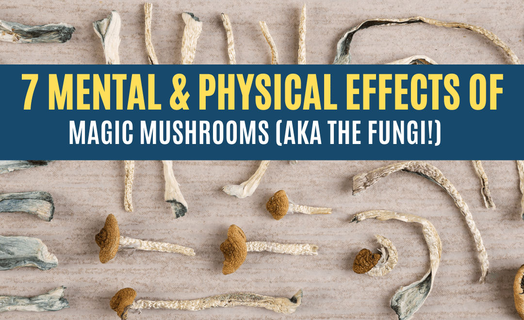 7 Mental and Physical Effects of Magic Mushrooms