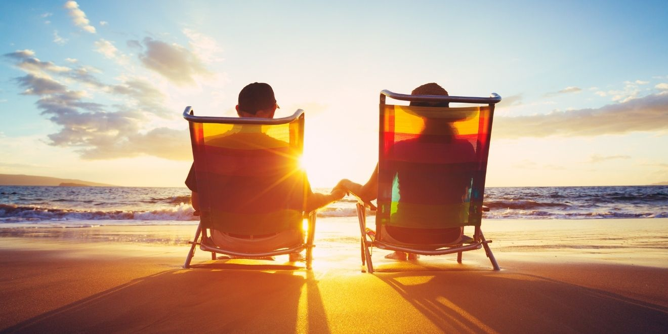 nothing like retiring on a beach