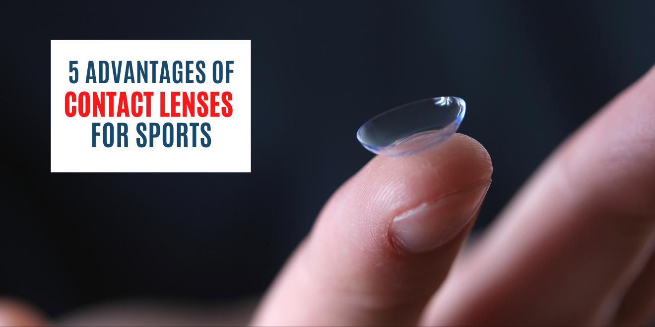 5 Advantages of Contact Lenses for Sports