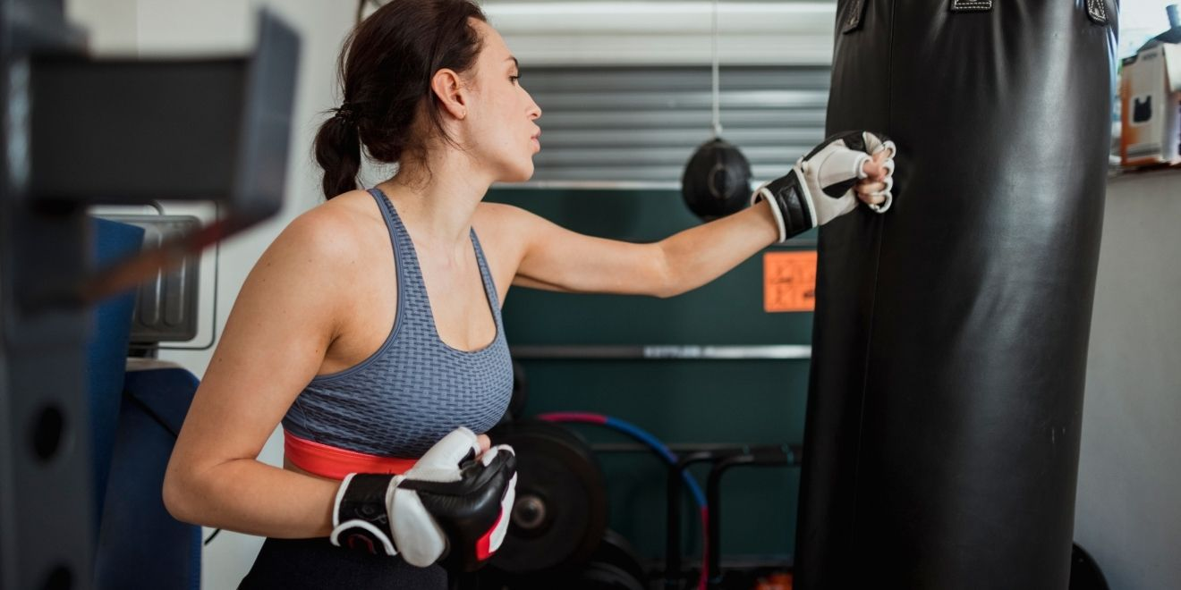boxing at home for stress relief