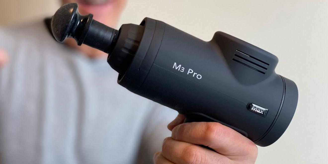 the m3 pro massage gun by opove
