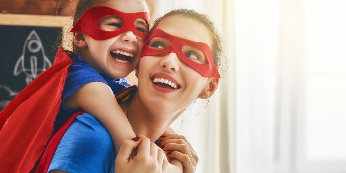 be a super hero to your kids