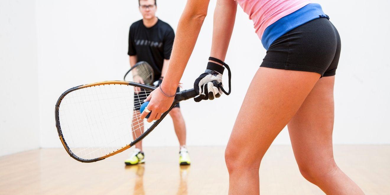 racquetball for pelvic floor strengthening