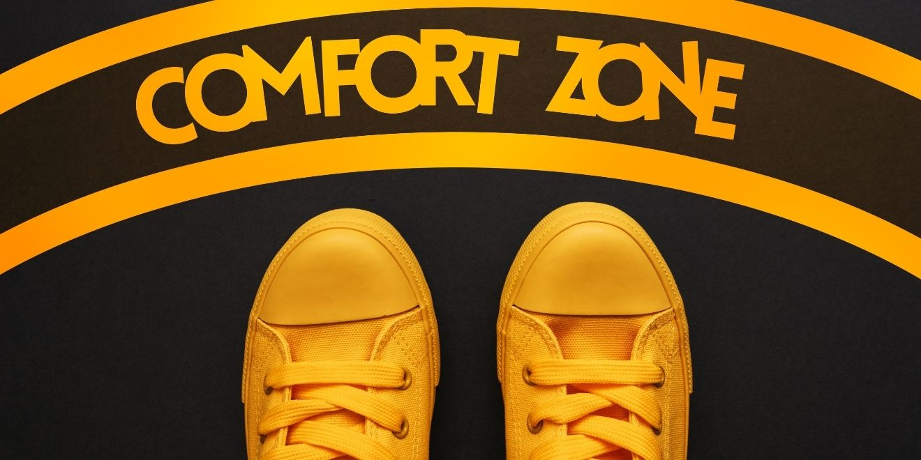 step out of the comfort zone - vulnerability resources for men