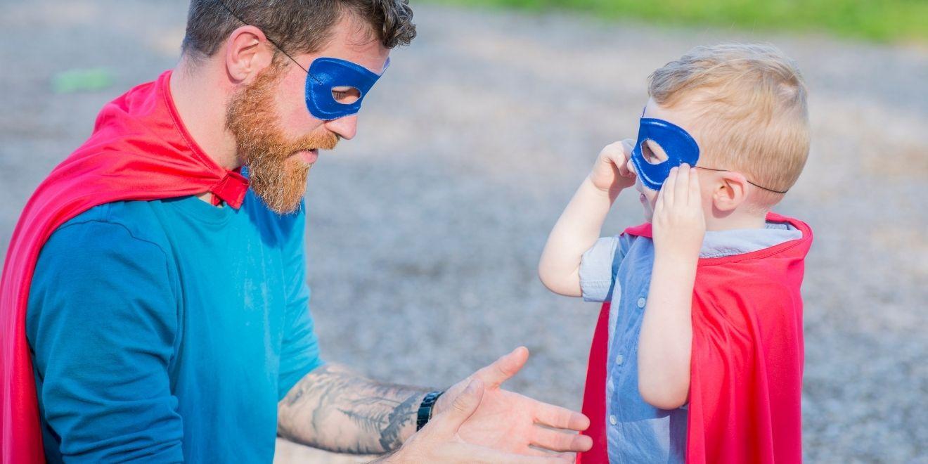 super dad - vulnerability resources for men