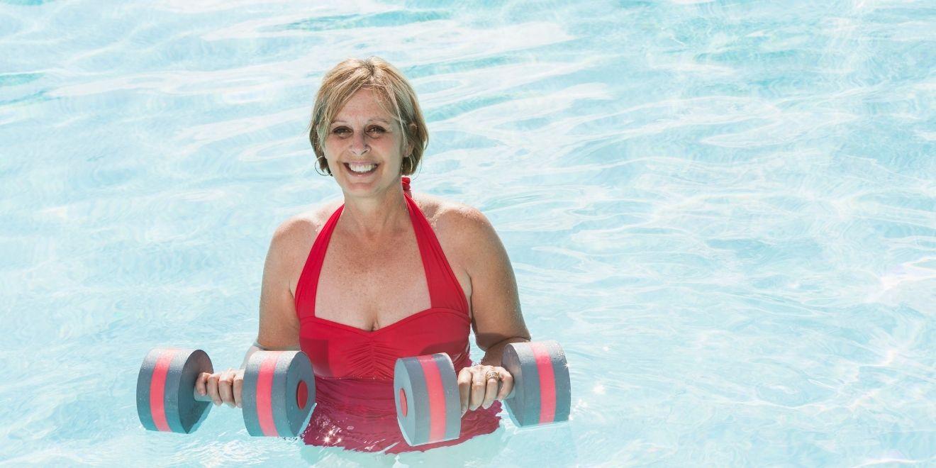 water aerobics for pelvic floor strengthening